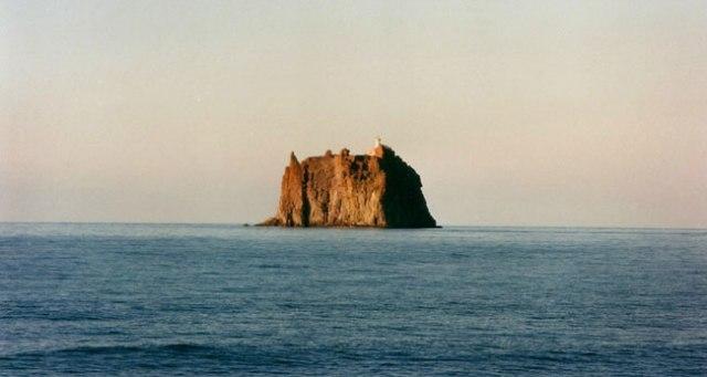 Volcà Strombolicchio. Arxipèlag Eòlies