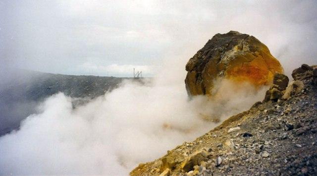 Volcà Vulcano. Arxipèlag Eòlies