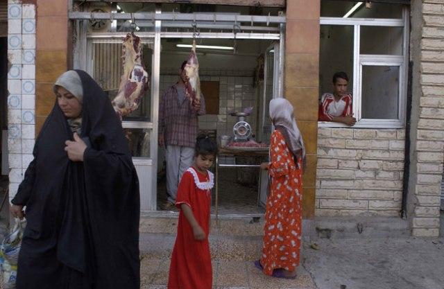 Vida quotidiana a Bagdad. Gervasio Sanchez