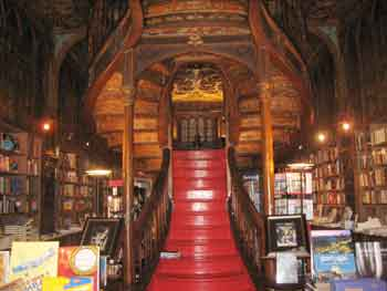 Lello bookshop. Porto