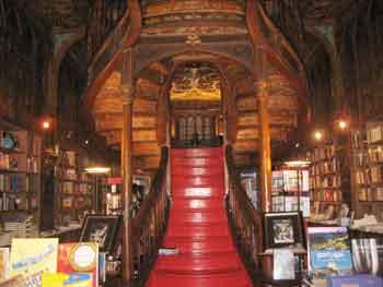 Lello bookshop. Porto