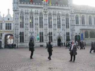 Bruges. Plaça. Foto: gloriacondal