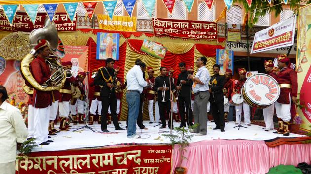 Jaipur.Celebració