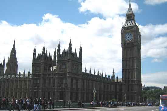 Londres, Parlament