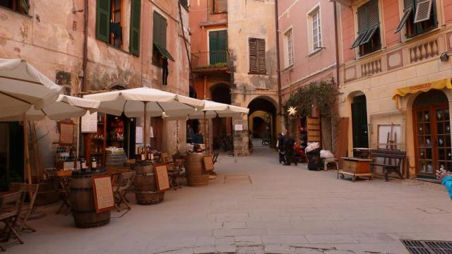 Monterrosso. Plaça Matteoti