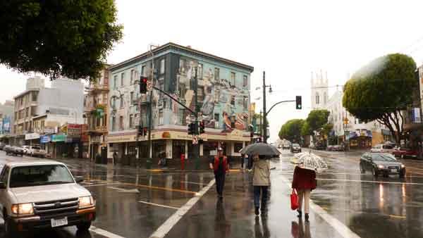 Murals a Broadway. San Francusci