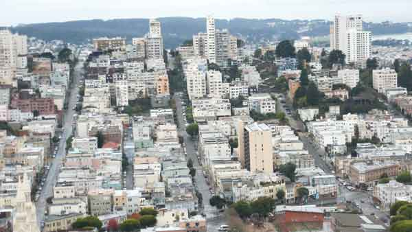 San Francisco des de Coit Tower