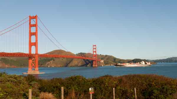 Golden Gate Bridge. San Francisco
