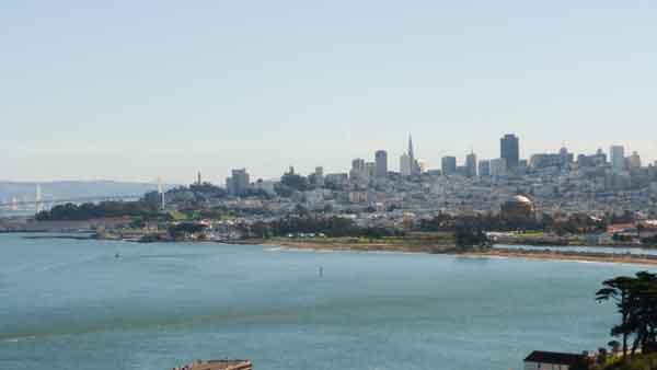 San Francisco des de Presidio Park