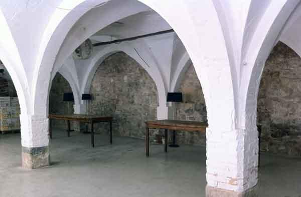 Interior de l'Adoberia. Igualada