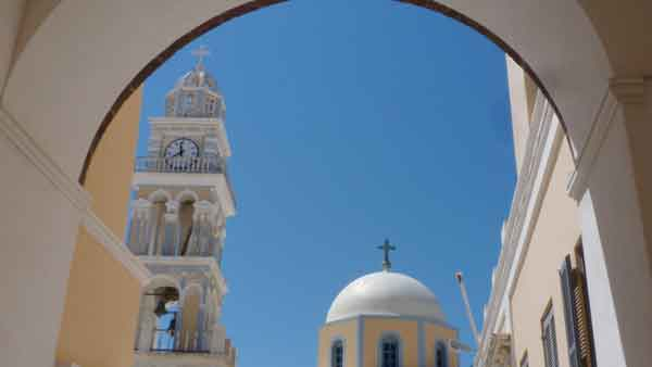 Fira, Santorini. Catedral