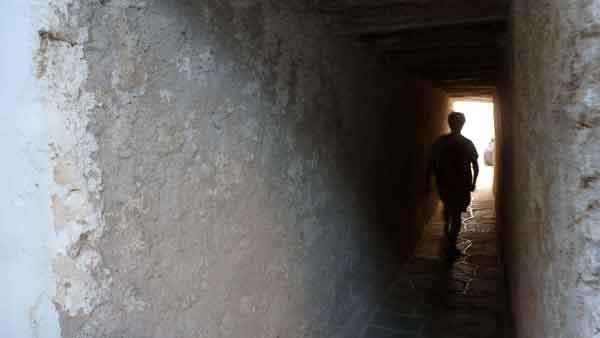 El kastro de Xora, a Folegandros