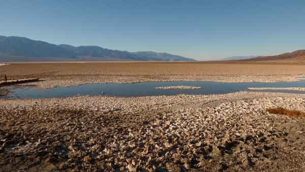 Death Valley. Badwater