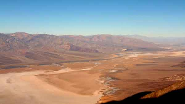 Death Valley. Dante's view