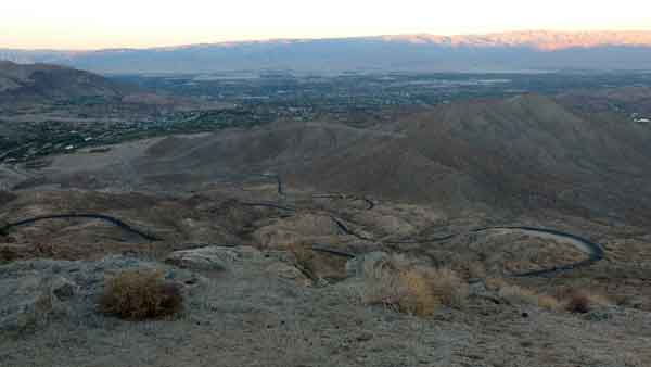 Del Mont Sant Jacinto a Palm Springs