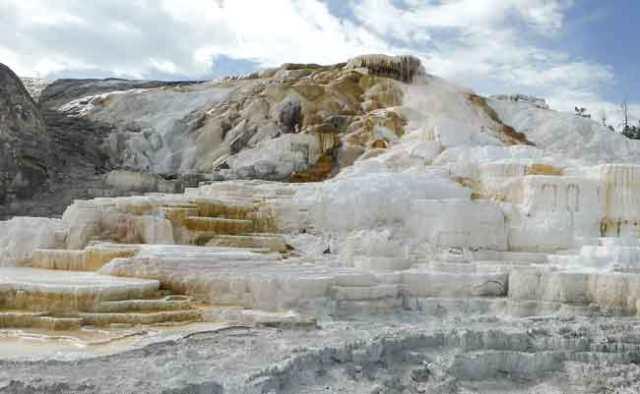 Mammouth. Yellowstone