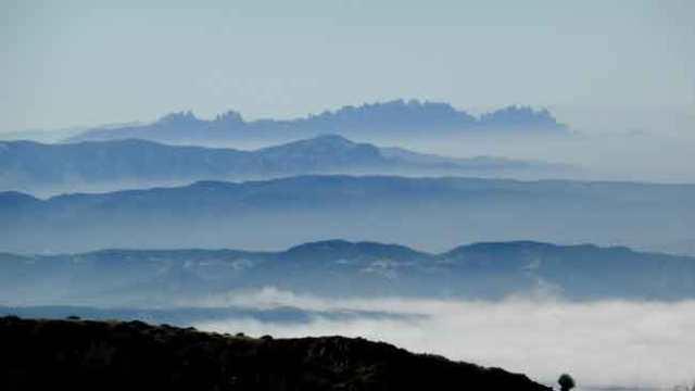 Montserrat des del Matagalls