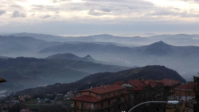 San Marino. Capvespre