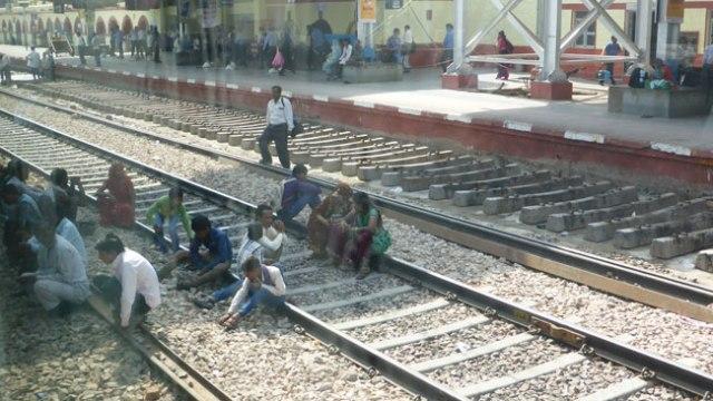 Tren Índia