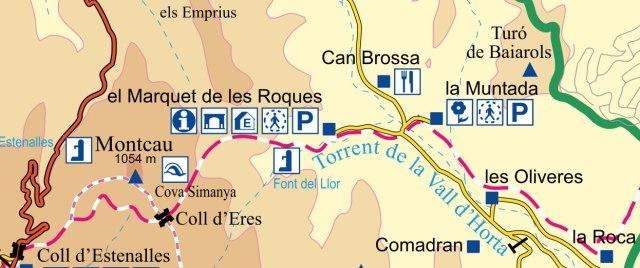 Itinerari Sant Lloreç Savall -Coll d'Eres