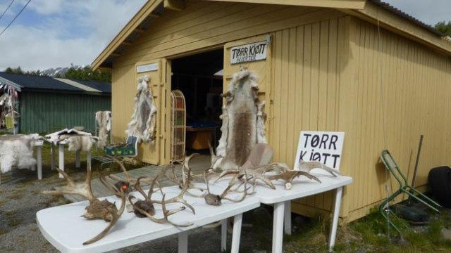 Paradeta de productes samis
