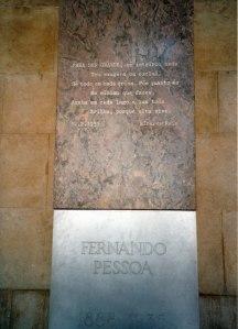 Fernando Pessoa està present en molts racons de Lisboa. A la foto, monestir dels Jerónimos.
