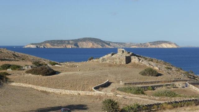 Sxinusa. Fortificació clàssica en ruïnes