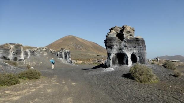 Muntanya de Guenia. Lanzarote