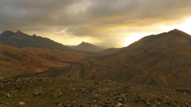Montaña Cardon- Pico Sisacumbre. Fuerteventura