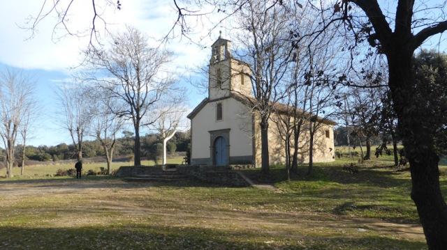Ermita de la Damunt Ruta verdagueriana