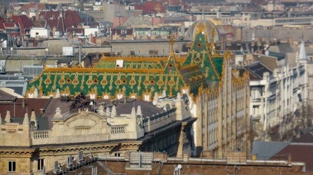 Poste Budapest. Art nouveau