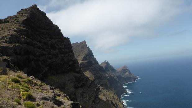 Anden Verde. Gram Canaria. Ruta des de l'Aldea