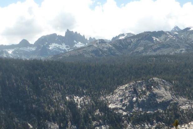 Els Minarets. Sierra Nevada. California