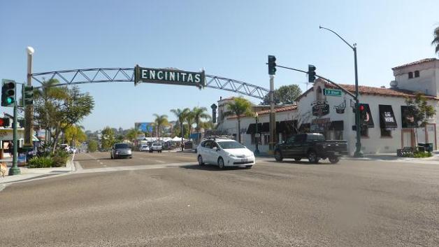 Ruta 101 al seu pas per Encinitas