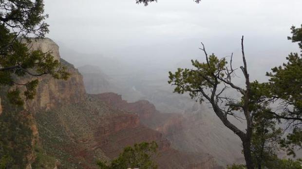 Gran Canó Sud. Scenic Hermit Trail