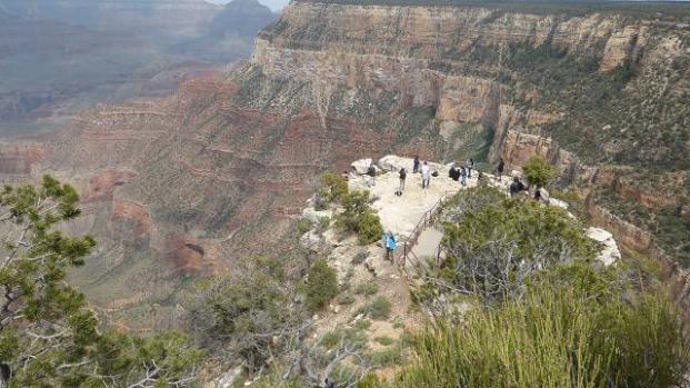 Gran Cano Sud. Escenic Hermit Trail