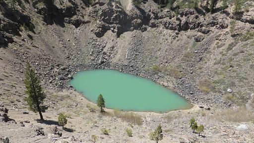 Inyo crater Lakes. Mammoth. California