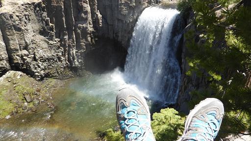 Rainbow Falls. Mammoth. California