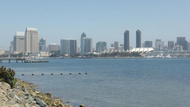 San Diego. California. Downtown