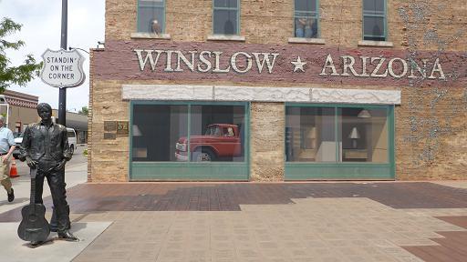 Winslow. Ruta 66