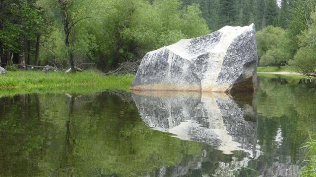 Mirror Lake. Yosemite