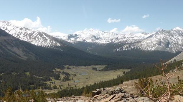 Tuolumne Meadows. Yosemite. Cims que voregen els 4.000 m