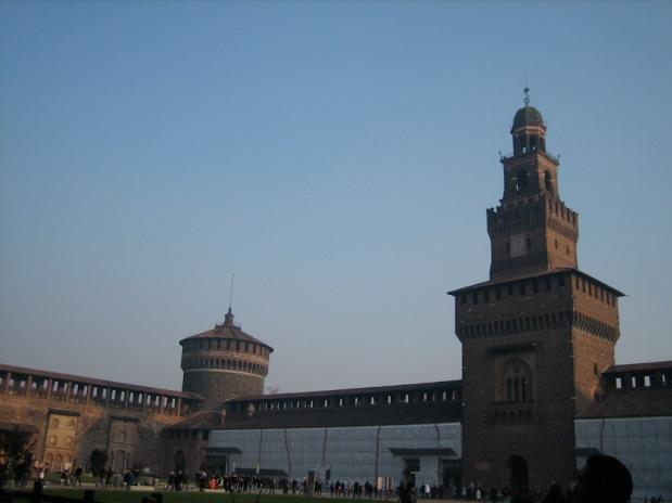 Castelo Sforzesco. Milan