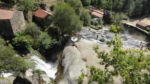 Os muiños de Barosa. Galicia
