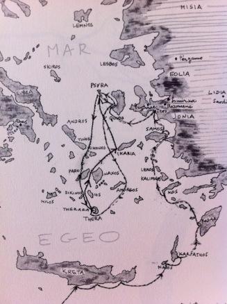 Ultim viatge pel mar Egeu dels protagonistes de La Vieja sirena