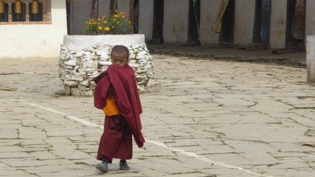 Gangte Goemba. Bhutan