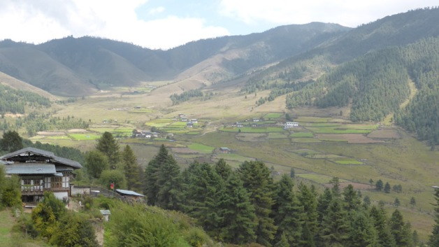 Vall Phojibkha. Bhutan. Foto: Gloriacondal