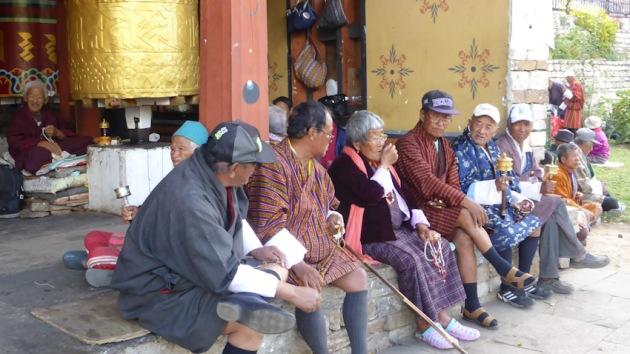 National Memorial Chorten. Bhutan