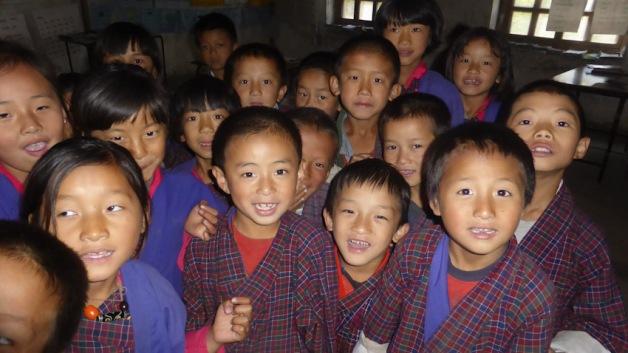 Escola rural. Ngatshang. Bhutan. Foto GloriaCondal