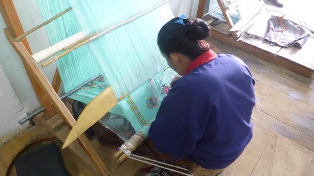 Artisan woman Timphu. Bhutan